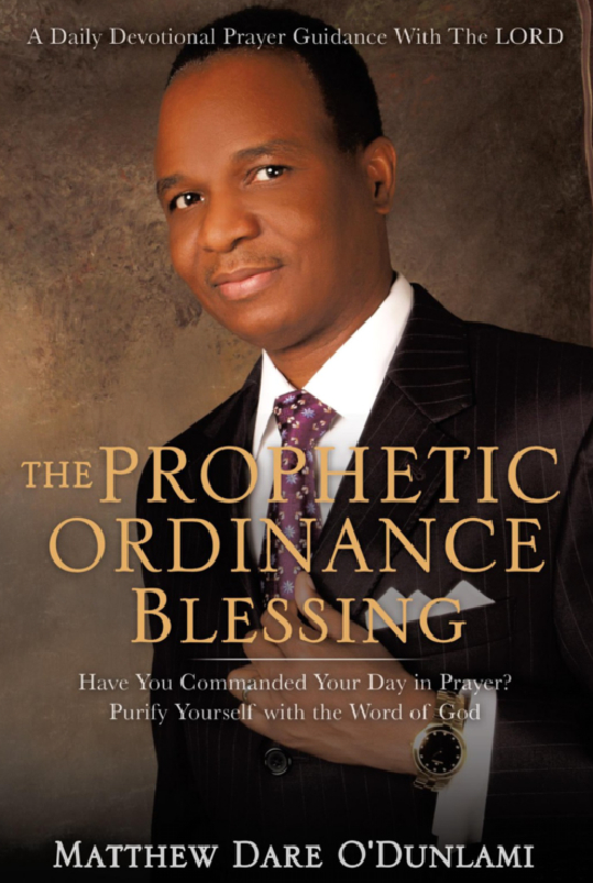 The Prophetic Ordinance Blessing